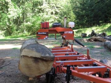 milling an oak