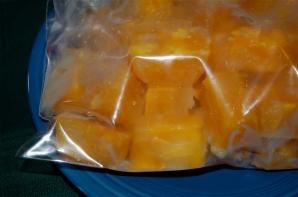6. egg cubes in a bag