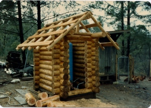Jan 1984- log building practice