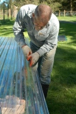 cutting polycarbonate for end walls