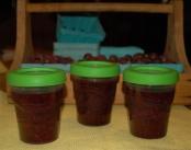 triple berry freezer jam