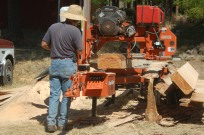 milling beams and planks
