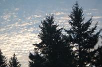 autumn sky after a storm