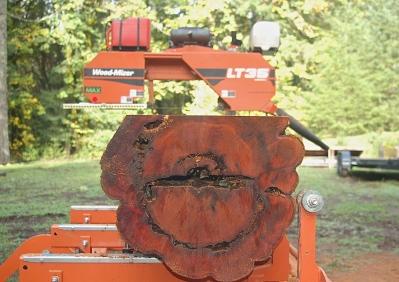custom milling- Pacific Yew