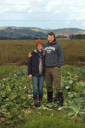 daughter Beth & Erik starting their farm