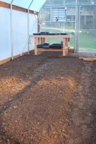 hoophouse garden