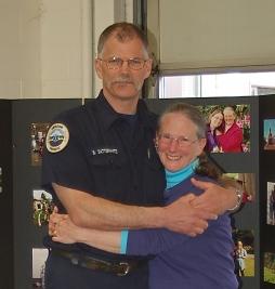 Best Friends- last day in uniform