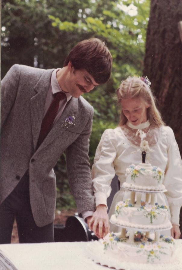 wedding day-  6/20/81