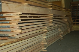 milled douglas fir